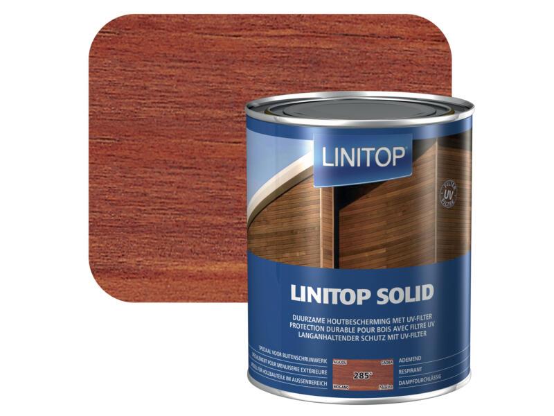 Linitop Solid lasure 2,5l acajou #285