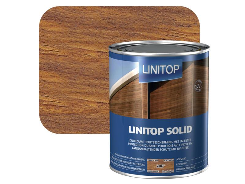 Linitop Solid lasure 2,5l chêne moyen #286