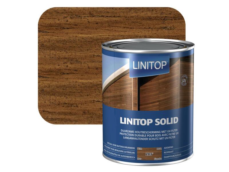 Linitop Solid lasure 2,5l noyer #283
