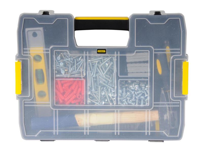 Stanley Sortmaster Junior coffret à compartiments 29,2x37,5x6,7 cm 2 pièces