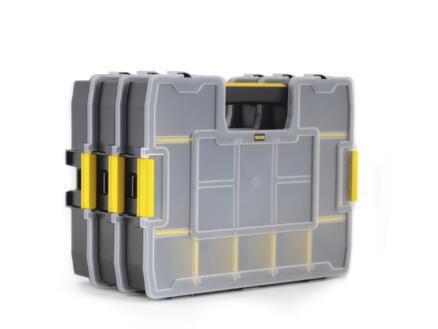 Stanley Sortmaster Junior coffret à compartiments 29,2x37,5x6,7 cm 3 pièces