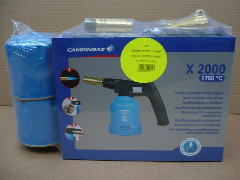 Campingaz Soudogaz X2000 soldeerset 5-delig