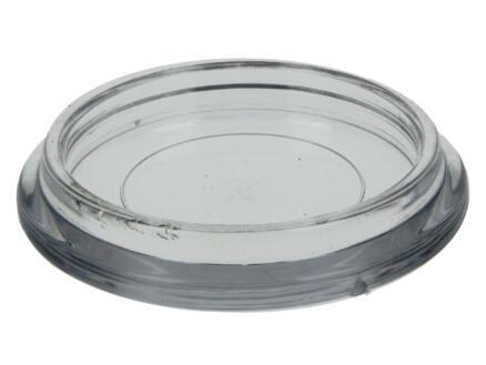 Sam Sous-pied de meuble 50mm transparent 4 pièces
