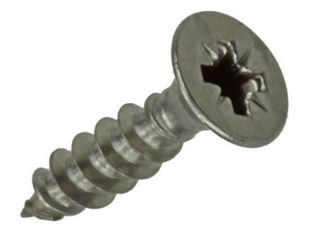Sam Spaanplaatschroeven PZ2 20x4,5 mm inox 13 stuks