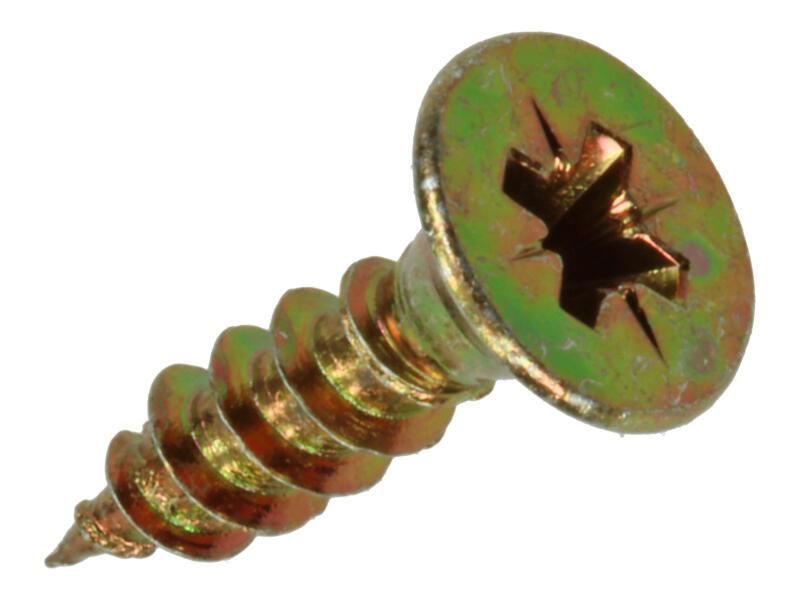 Sam Spaanplaatschroeven PZ2 20x5 mm geelverzinkt 200 stuks