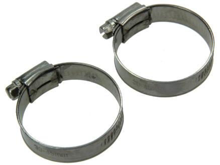 Spanring inox 12mm 30x45 mm 2 stuks