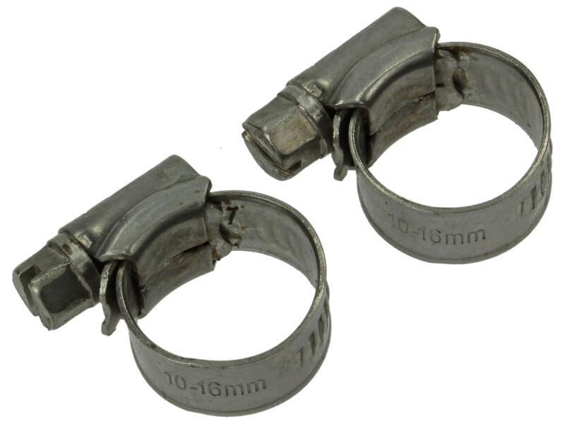 Spanring inox 9mm 10x16 mm 2 stuks