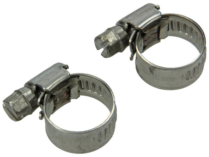 Spanring inox 9mm 16x27 mm 2 stuks
