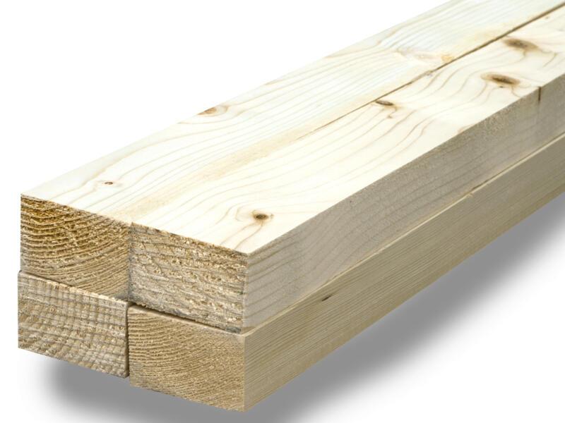 Spant vurenhout ruw 47x75 mm 270cm 4 stuks