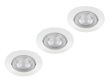 Philips Sparkle LED inbouwspot 3x5 W dimbaar wit