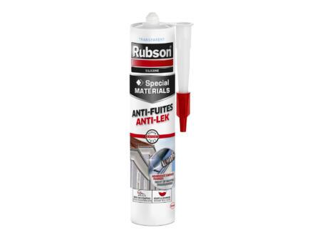 Rubson Special Materials mastic silicone anti-fuites 280ml transparent