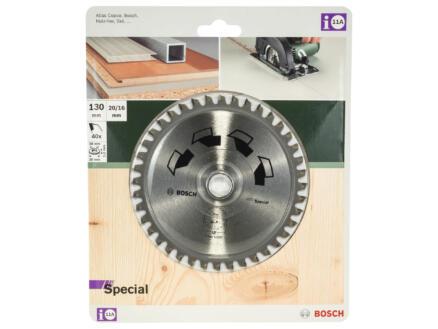 Bosch Special cirkelzaagblad 130mm 40T hout