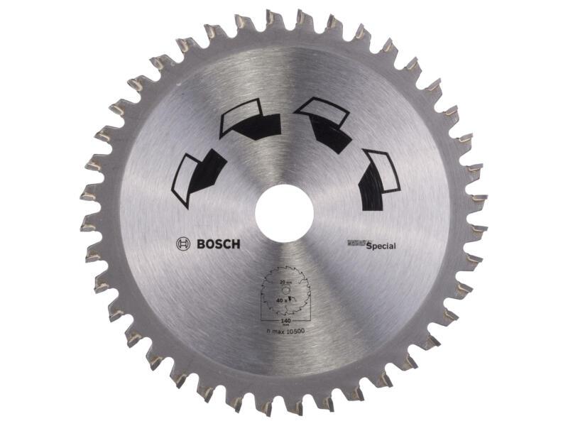 Bosch Special cirkelzaagblad 140mm 40T hout