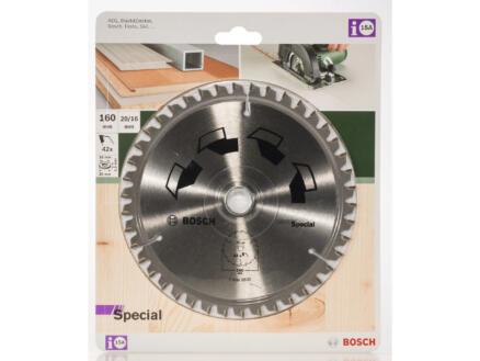 Bosch Special cirkelzaagblad 160mm 42T hout