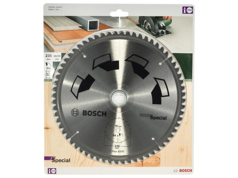 Bosch Special cirkelzaagblad 235mm 64T hout