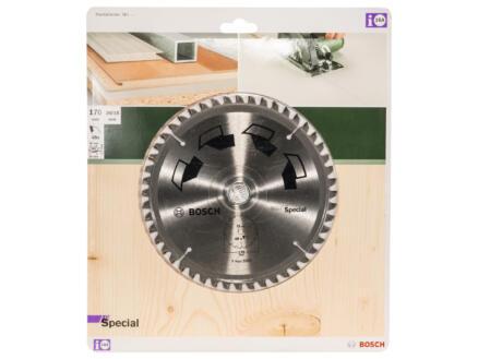 Bosch Special lame de scie circulaire 170mm 48D bois