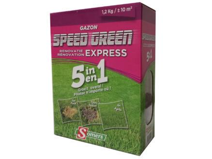 Speed Green 5-en-1 semence gazon