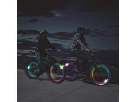 Spokelit Disc-O-Select éclairage roue de vélo LED multicolore 2 pièces