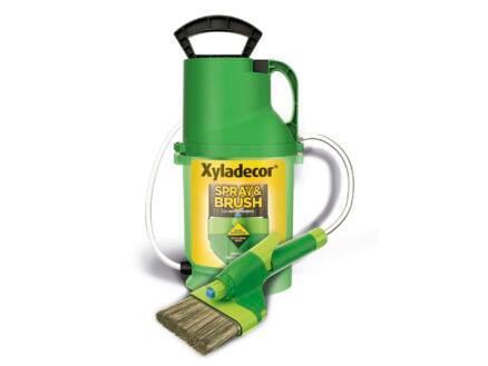 Xyladecor Spray & Brush pulvérisateur à peinture + brosse