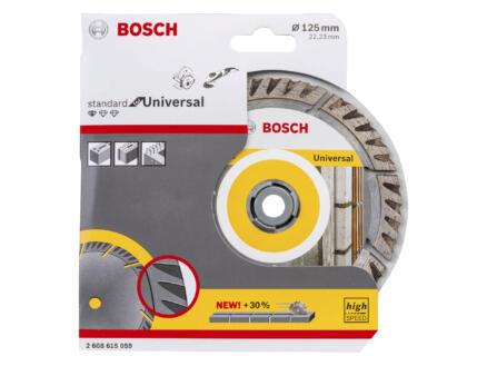 Bosch Professional Standard for Universal disque à tronçonner diamanté universel 125x22,23x2 mm