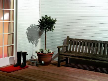 Dumaplast Standard lambris 260x10 cm 2,6m² blanc
