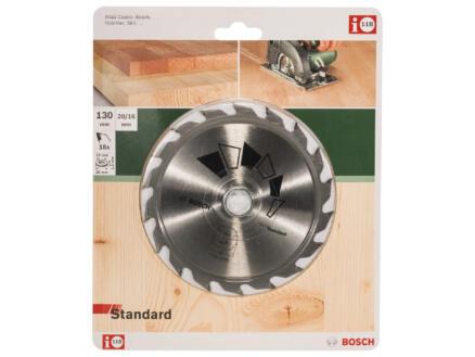 Bosch Standard lame de scie circulaire 130mm 18D bois