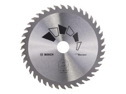 Bosch Standard lame de scie circulaire 140mm 40D bois