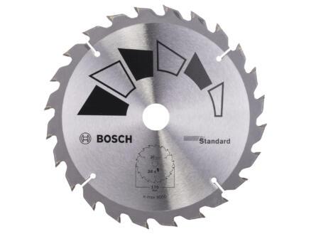 Bosch Standard lame de scie circulaire 170mm 24D bois