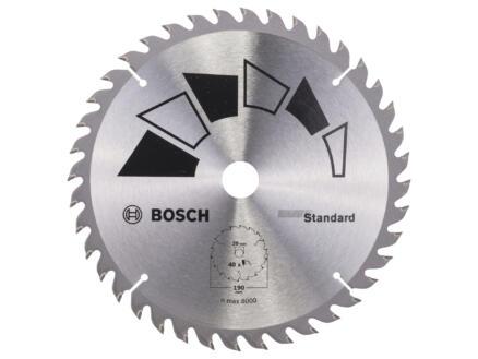 Bosch Standard lame de scie circulaire 190mm 40D bois