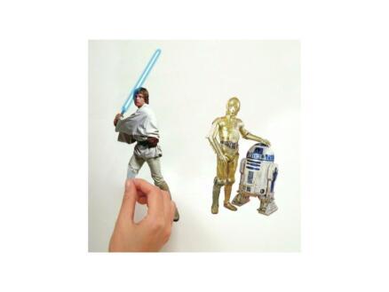 Star Wars muurstickers 31 stuks