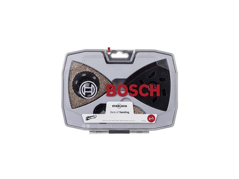 Bosch Professional Starlock Best of Sanding disque abrasif/papier abrasif 6 pièces