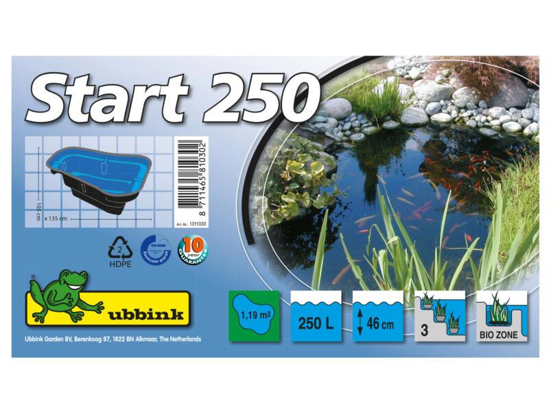 Start 250 bassin de jardin 250l