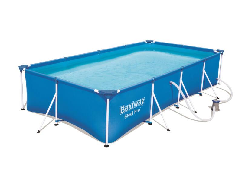 Bestway Steel Pro zwembad 400x211x81 cm