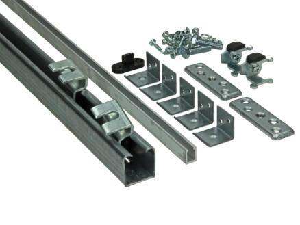 Steel Slide 110 schuifdeurgarnituur 210cm