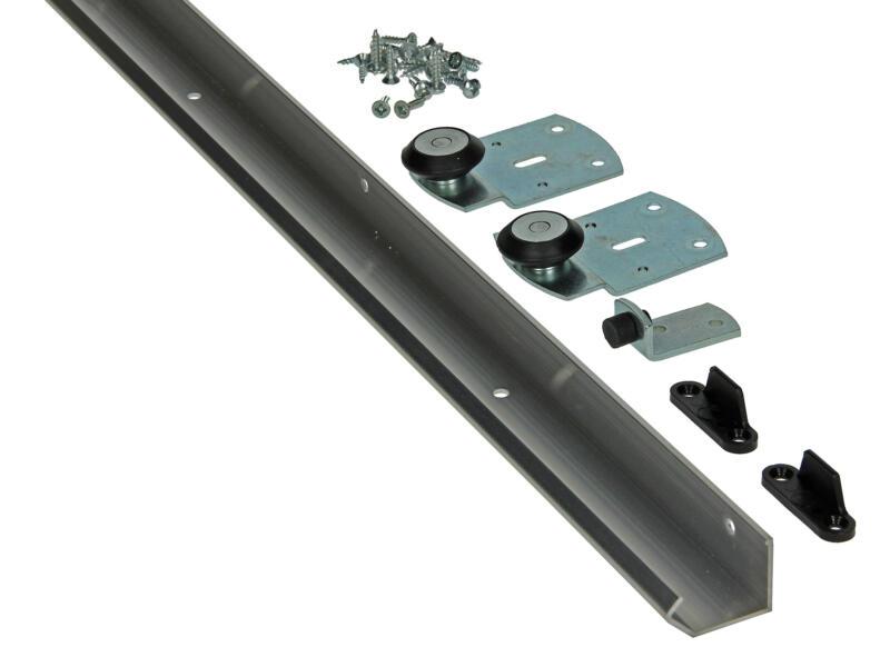 Steel Slide Pro Schuifdeurgarnituur Steel Slide Pro 2,1m
