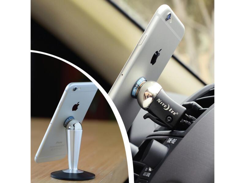 Nite Ize Steelie Desk & Dash System gsm-houder tafel/bureau/auto/dashboard 3-delig