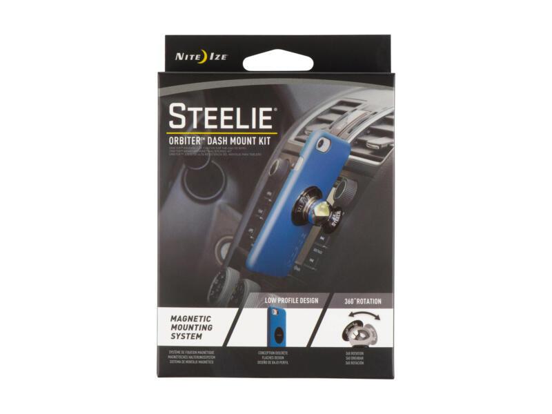 Steelie Orbiter Dash Mount Kit support téléphone magnétique pour voiture set de 3