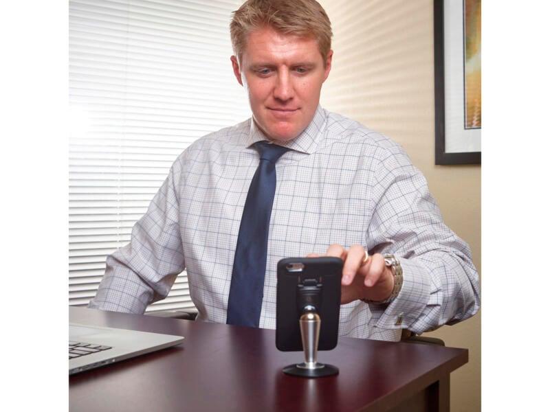 Nite Ize Steelie Pedestal Kit staander smartphone tafel/bureau 2-delig