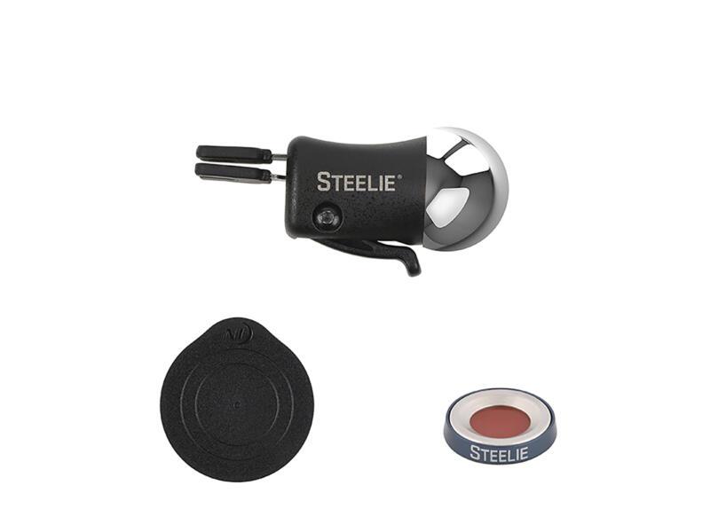 Nite Ize Steelie Vent Mount Kit Plus magnetische gsm-houder auto 3-delig
