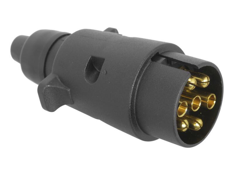 Carpoint Stekker 7-polig 12V kunststof