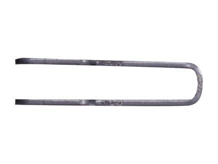 Steun dubbel 17cm aluminium