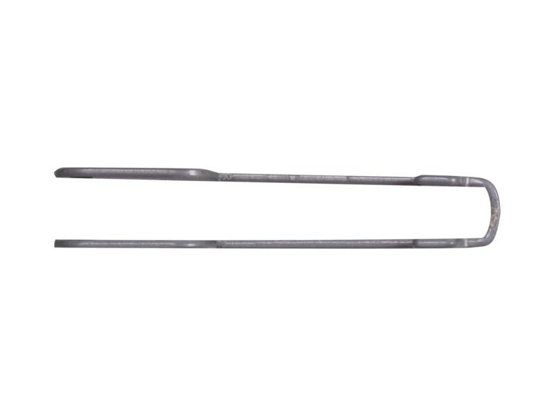 Steun dubbel 22cm aluminium