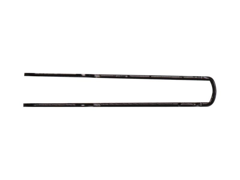 Steun dubbel 22cm zwart