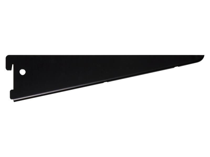 Steun dubbel 27cm zwart
