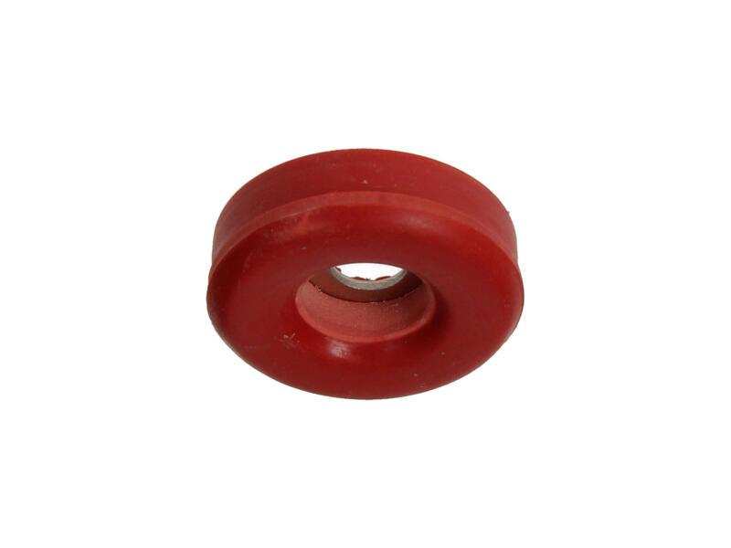 Mack Stoeltop rubber 23mm rood 24 stuks