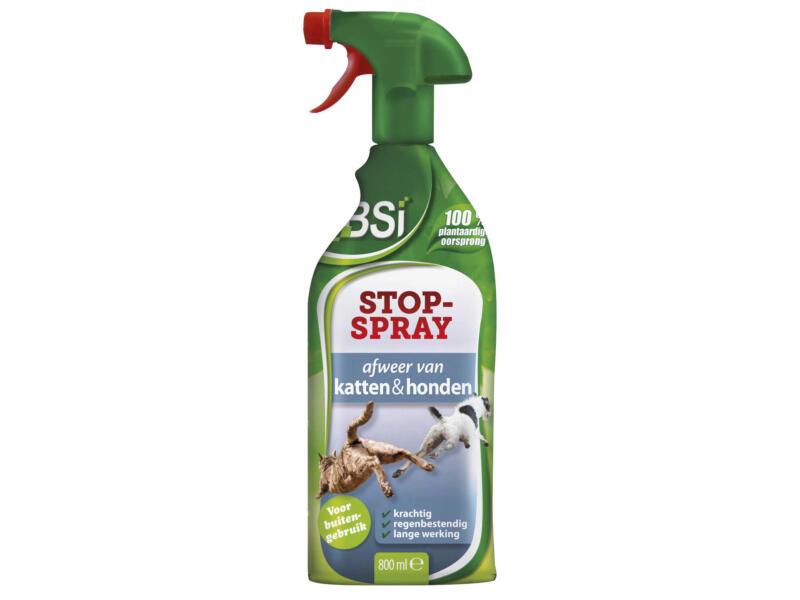 Bsi Stop-Spray répulsif chats & chiens 800ml