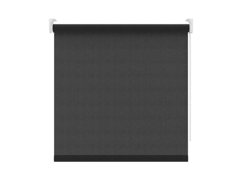 Decosol Store enrouleur translucide 150x190 cm noir