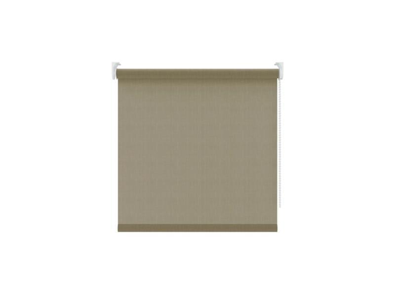Decosol Store enrouleur translucide 60x190 cm taupe
