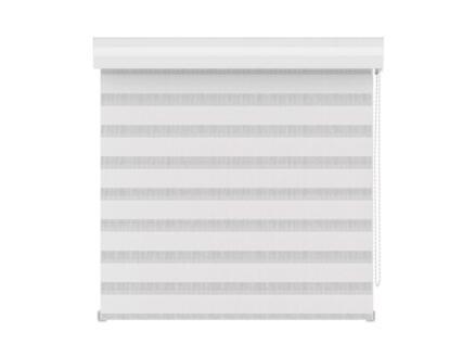 Decosol Store enrouleur vénitien tamisant 120x160 cm blanc