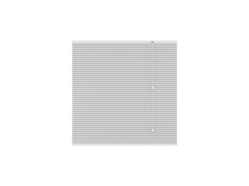 Decosol Store plissé translucide 120x180 cm blanc